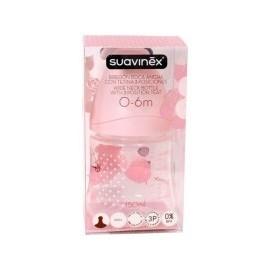 Biberón suavinex rosa