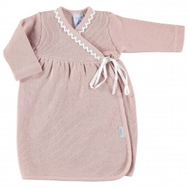 Vestido bebé rosa maquillaje