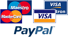 Pague con tarjeta o PayPal