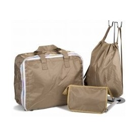 Lote Bolsas bebé camel maleta-mochila-neceser