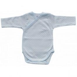 Body algodón azul