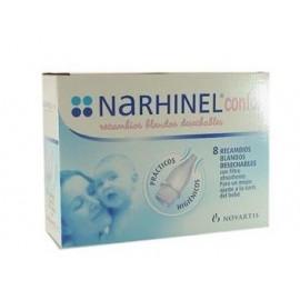 Narhinel 10 recambios blandos deshechables