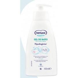 Nenuco sensitive gel de baño 400 ml