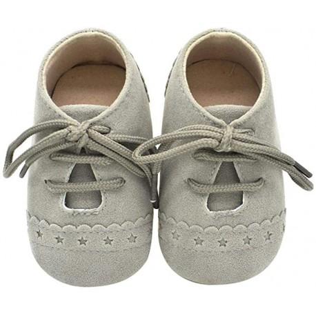 Zapato nobuk unisex Gris